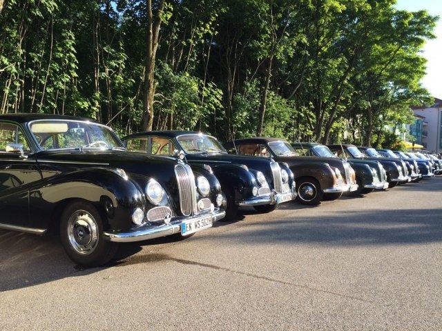 BMW V8 Treffen 2015 Aalen